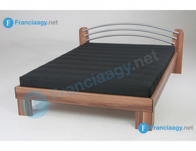 LEA franciaágy kompletten matraccal