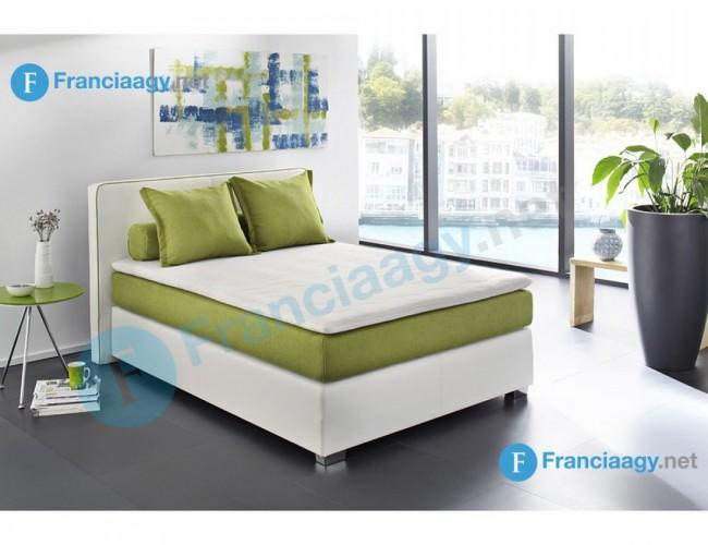 MANDY franciaágy kompletten matraccal