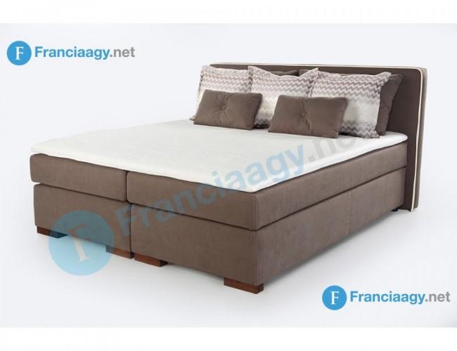 PALERMO franciaágy kompletten matraccal