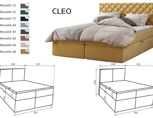 Cleo franciaágy
